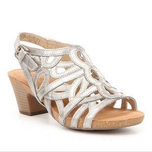 Josef Seibel Ruth 03 Silver Heeled Sandal—12